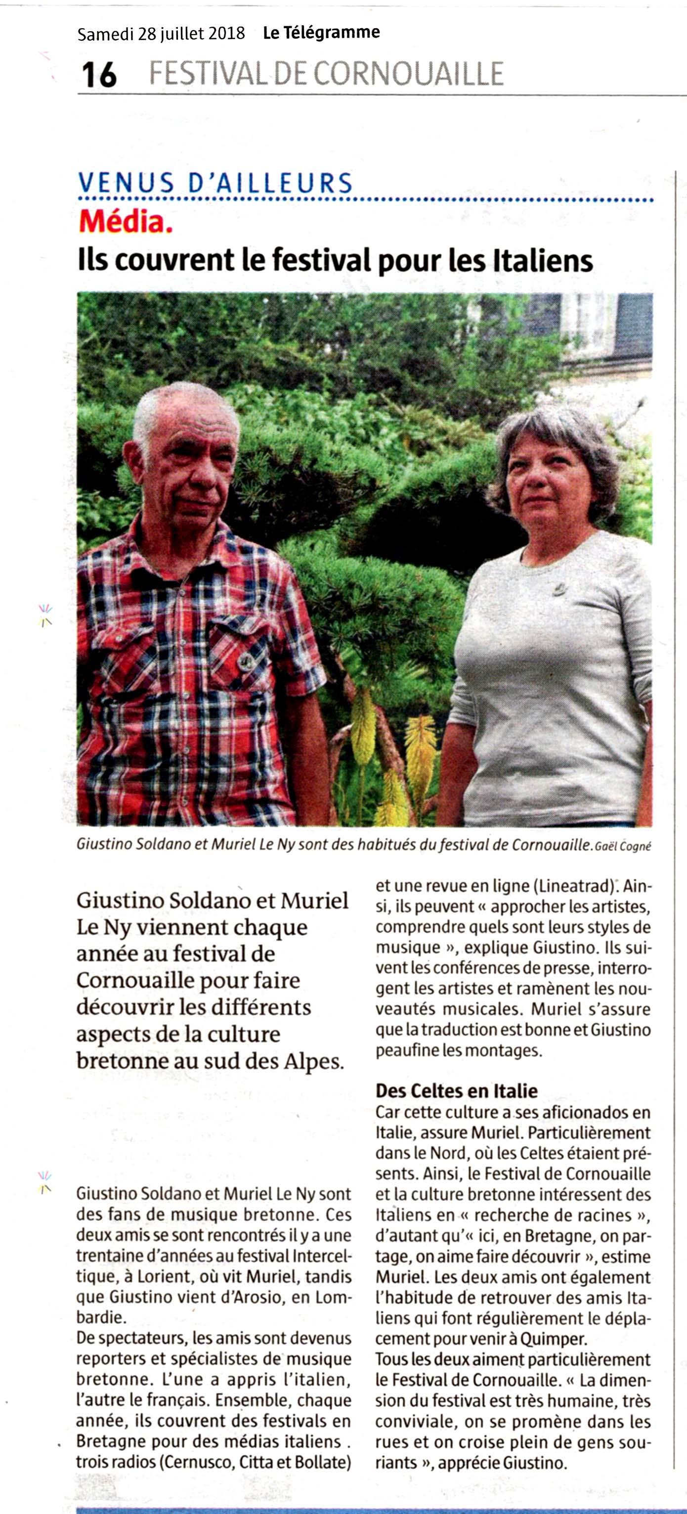 Photo Le Télégramme